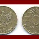 INDONESIA 2000 500 RUPIAH COIN KM#59 EURASIA