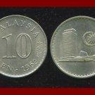 MALAYSIA 1968 10 SEN COIN KM#3 ASIA - Parliamentary Building