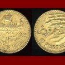 LEBANON 1955 10 PIASTRES COIN KM#22 Middle East - Sailboat & Cedar Tree