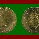 AUSTRIA 1965 1 SCHILLING COIN KM#2886 Europe - Edelweiss Flowers
