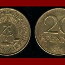 EAST GERMANY 1969 20 PFENNIG BRASS COIN KM#11 Europe - East Berlin City Seal - Communist Germany