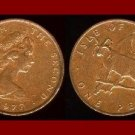 ISLE OF MAN 1979 1 PENNY BRONZE COIN KM#33 Europe - Loaghtyn Sheep & Stylized Triskelion