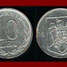 ROMANIA - TRANSYLVANIA 1993 10 LEI COIN KM#116 Europe
