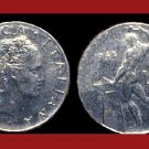 ITALY 1964 50 LIRE STEEL COIN KM#95 Europe ~ BEAUTIFUL!
