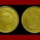 TURKEY 1993 5000 LIRA COIN KM#1025 Tulips Mustafa