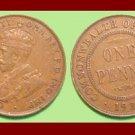 AUSTRALIA 1934(m) 1 PENNY BRONZE COIN KM#23 Oceania COMMONWEALTH