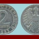 AUSTRIA 1983 2 GROSCHEN COIN KM#2876 - XF - BEAUTIFUL!