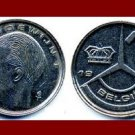 BELGIUM 1989 1 FRANK COIN KM#171 Europe - BELGIE Dutch Legend - King Baudouin I - XF - BEAUTIFUL!