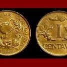 COLOMBIA 1967 1 CENTAVO COIN KM#205.a South America Helmet - BU - BEAUTIFUL!