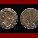 NETHERLANDS 1948 1 CENT BRONZE COIN KM#175 Europe - Queen Wilhelmina ~ SCARCE!