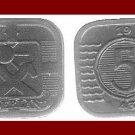 NETHERLANDS 1943 5 CENTS COIN KM#172 - World War II Europe - Queen Wilhelmina ~ SCARCE!