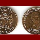 JAMAICA 1995 10 CENTS COIN KM#146.2 Caribbean - NATIONAL HERO Paul Bogle - BEAUTIFUL!