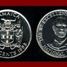 JAMAICA 1993 10 CENTS COIN KM#146.1 Caribbean - NATIONAL HERO Paul Bogle - BEAUTIFUL!