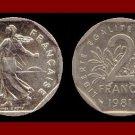 FRANCE 1981 2 FRANCS COIN KM#942.1 Europe ~ BU - BEAUTIFUL!