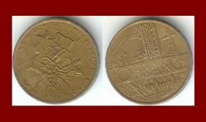 FRANCE 1979 10 FRANCS COIN KM#940 Europe