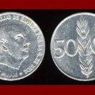 SPAIN 1966 50 CENTIMOS COIN KM#795 Francisco Franco