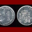 SPAIN 1990 1 PESETA COIN KM#832 KING JUAN CARLOS I