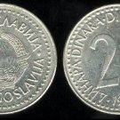 YUGOSLAVIA 1987 20 DINARA COPPER NICKEL ZINC COIN KM#112 - COMMUNIST COIN ~ BEAUTIFUL!