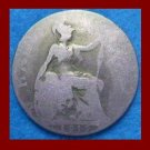 England UK Great Britain 1919 1/2 HALF PENNY BRONZE COIN KM#809 ~ Warrior Queen Britannia ~ SCARCE!