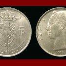 BELGIUM 1972 5 FRANCS COIN 24mm KM#134.1 Europe - BELGIQUE French Legend
