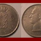 BELGIUM 1951 1 FRANC COIN KM#143.1 Europe - BELGIE Dutch Legend