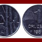 BRAZIL 1981 1 CRUZEIRO COIN KM#590 South America ~ XF BEAUTIFUL!