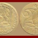 CZECHOSLOVAKIA 1976 20 HALERU BRASS COIN KM#74 Europe