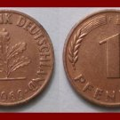 WEST GERMANY 1969(F) 1 PFENNIG COIN KM#105 Europe - Federal Republic of Germany - Post WWII Coin