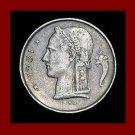 BELGIUM 1951 1 FRANC BELGIQUE COIN KM#142.1 Europe - French Legend