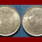 BELGIUM 1971 1 FRANC BELGIQUE COIN KM#142.1 Europe - French Legend