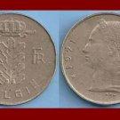 BELGIUM 1971 1 FRANK BELGIE COIN KM#143.1 Europe - Dutch Legend