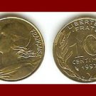 FRANCE 1997 10 CENTIMES COIN KM#929 Europe - XF BEAUTIFUL!