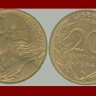 FRANCE 1984 20 CENTIMES COIN KM#930 Europe