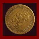 CZECHOSLOVAKIA 1986 1 KORUNA COIN KM#50 Europe