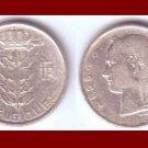 BELGIUM 1956 1 FRANC BELGIQUE COIN KM#142.1 Europe - French Legend
