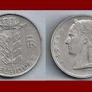 BELGIUM 1974 1 FRANC BELGIQUE COIN KM#142.1 Europe - French Legend