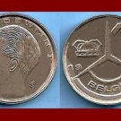BELGIUM 1990 1 FRANC BELGIE COIN KM#171 XF - Europe Dutch Legend