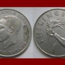 TANZANIA 1984 1 SHILINGI COIN KM#4 - Africa Swahili - Arm holding Torch