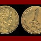 CHILE 1978 1 PESO COIN KM#208a South America