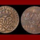 SWEDEN 1929 1 ORE BRONZE COIN KM#552.2 Europe - SCARCE!