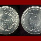 TURKEY 750.000 LIRA 2002 COIN KM#1162 - Mountain Goat - UNC AU - BEAUTIFUL!
