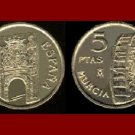 SPAIN 1999 5 PESETAS PTAS COIN KM#1008  Europe - Waterwheel - UNC BEAUTIFUL!