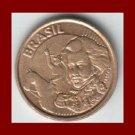 BRAZIL 2004 10 CENTAVOS BRASS COIN KM#649.2 South America