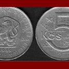 CZECHOSLOVAKIA 1989 5 KORUN KCS COIN KM#60 Europe - XF BEAUTIFUL!