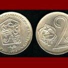 CZECHOSLOVAKIA 1973 2 KORUNY KCS COIN KM#75 Europe