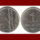 BRAZIL 1980 1 CRUZEIRO COIN KM#590 South America - XF