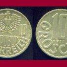 AUSTRIA 1977 10 GROSCHEN COIN KM#2878 Europe