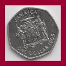 JAMAICA 1999 1 DOLLAR COMMEMORATIVE COIN KM#164 Caribbean