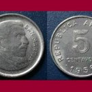 ARGENTINA 1956 5 CENTAVOS COIN KM#50 South America - BU - Beautiful!