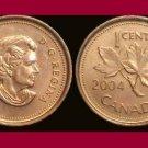 CANADA 2004 1 CENT COIN KM#490 North America - BU - Beautiful!